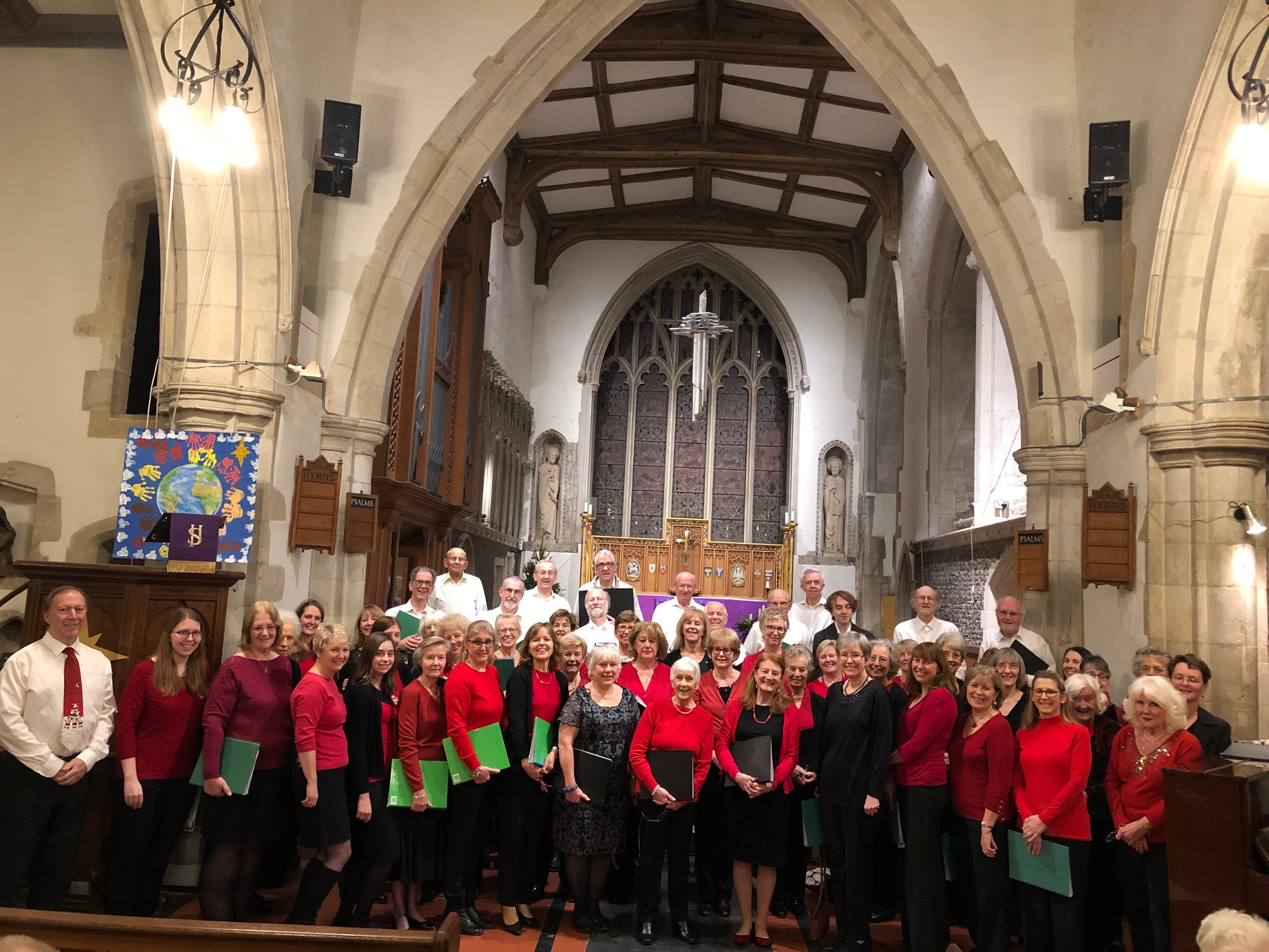Our Christmas concert 2018 joint with The Heatherton Singers